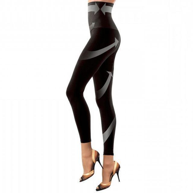 Фото 2: 'Утягивающие леггинсы с высокой талией' - Красивые  ножки + стильный элемент Вашего гардероба.