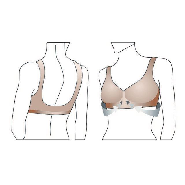 Фото 3: 'Корректирующий бюстгальтер' - Мягкая и эластичная поддержка груди