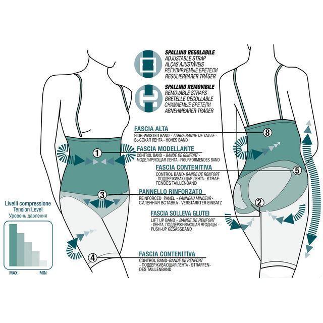 Фото 3: 'Утягивающие шорты Invisible на бретелях' - Футлярная подтяжка фигуры
