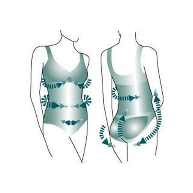 Фото 3: 'Утягивающее боди с усиленным лифом' - Утягивающее боди с комфортом для груди