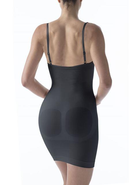 Изображение Утягивающее платье с открытым бюстом